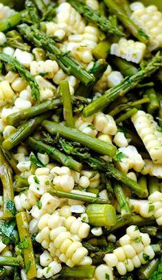 Asparagus Corn Salad