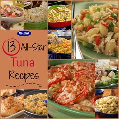 13 All-Star Tuna Recipes, including tuna casserole, tuna salad, tuna mac, and more!