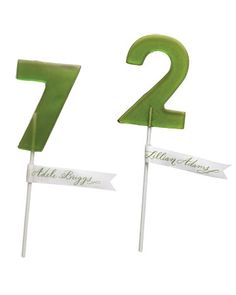 lollipop table numbers