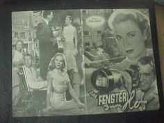 Rear Window Austrian Film Program Hitchcock James Stewart Grace Kelly