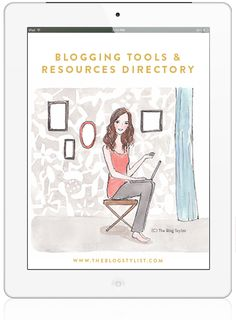 The Blogstylist: A-Z Blogging tools  resources directory!