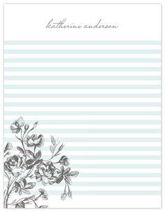 love the stripes -- indigo prints