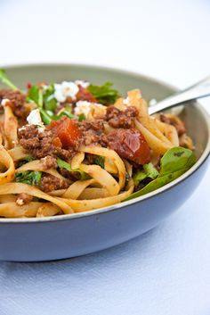 Summery Spaghetti Bolognese - Simply Delicious— Simply Delicious