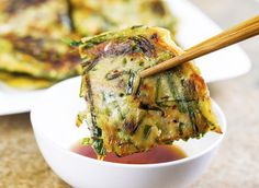 Easy Scallion Pancakes (Enlarge)