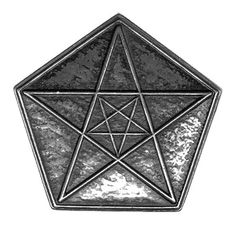 Pentacle Belt Buckle - pagan wiccan witchcraft magick ritual supplies