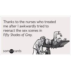 I expect to see this soon in the ER! lol