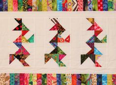Camelot Quilt Pattern, girl version.