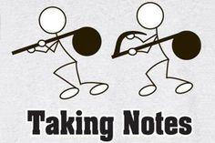 #pun - taking notes...