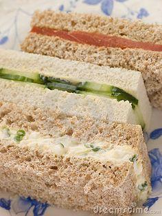 Tea Sandwich Recipes On Pinterest