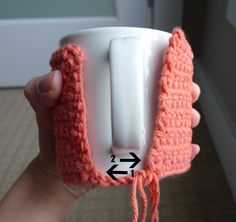 All About Ami - Cup Cozy Tutorial