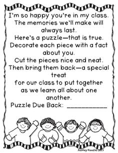 classroom, back to school with paws, back to school freebies, back to school puzzle, september kindergarten ideas