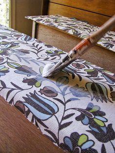 fabrictutorial-furniture mod podge