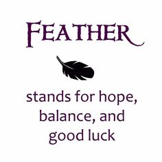 the meaning of a feather #symbol