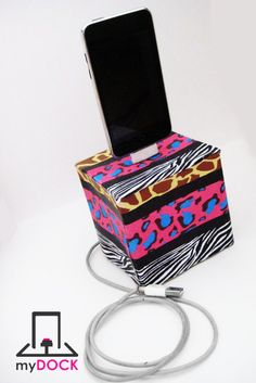 this ipod dock iphone dock charger and syncing station is covered in : print bedroom decorations