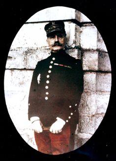 Le général de division Ferdinand Foch, 1911-1918, attribué à J-B Tournassoud, autochrome