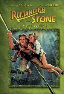 Romancing the Stone - 42nd Globes Ceremony-COMEDY/MUSICAL (LA. Jan. 27, 1985). (1984) Director: Robert Zemeckis. Stars: Michael Douglas, Kathleen Turner, Danny DeVito. #goldenglobes #comedy
