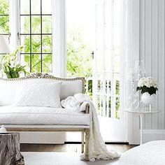 Beautiful, white and fresh