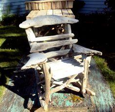 lawn chair, driftwood chair