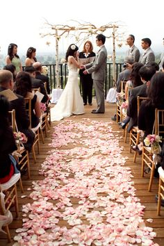 gorgeous aisle and canopy