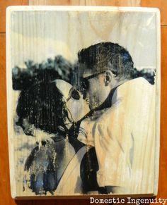printing on wood diy, wood transfer, printing pictures on wood, photo wood blocks diy, diy wood