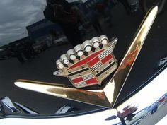 Vintage Caddy Hood Emblem