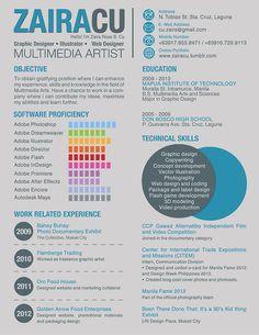creative resume | Tumblr