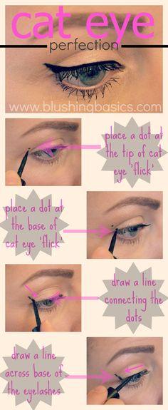 Step by Step Makeup Tutorial {cat eye}