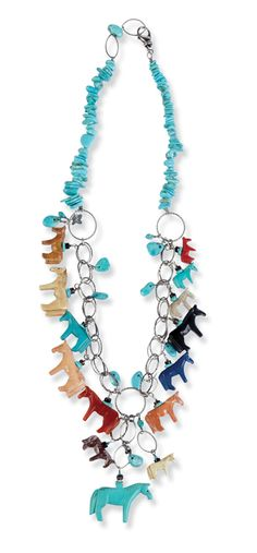 #Equestrian jewelry - horse necklace