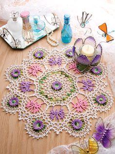 Mariposa Doily (crochet pattern)