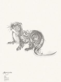 Otter  This would make a cool tattoo