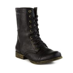 Womens Madden Girl Trixie Boot in Black at Journeys Shoes.