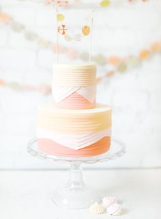 Pretty colors, pretty cake :)