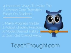 4 Important Ways To Make The Common Core Transition Easier On Students
