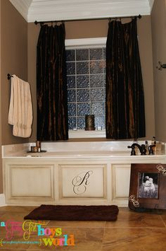 Have to do this to our bathroom!