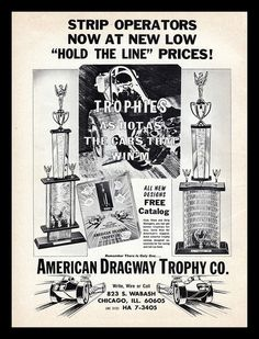 American Dragway Trophy Co, 1967