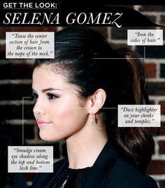 Get the Look: Selena Gomez chic ponytails