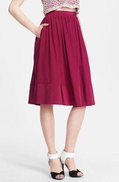 full skirt -- love the color!