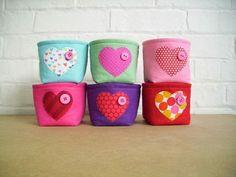 #flet basket, little felt basket, photo by mintown facebook felt basket, flet basket