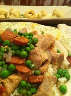 Portuguese Pork and Chorizo Recipe