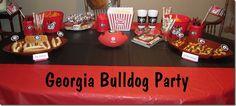 Georgia Bulldog Party. Fun! #UltimateTailgate #Fanatics