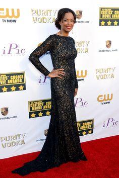 Aisha Tyler | Fashion At The Critics' Choice Awards