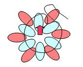 CIRCULAR peyote stitch  two-hole seed bead SUPERDUO - 2