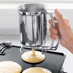 kitchens, christmas dinners, shop, kitchen gadgets, funnel cakes, breakfast in bed, pancakes, stainless steel, batter dispens