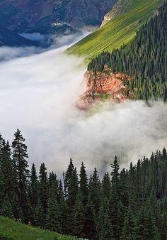 San Juan Mountains of SW Colorado