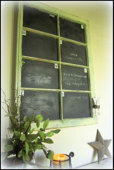 old window frames, paint tips, earth style, old windows, chalkboard paint