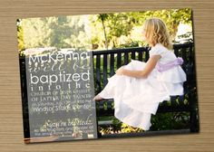 Print Your Own Boy/Girl LDS Baptism by CardsEtcetera on Etsy, $15.00