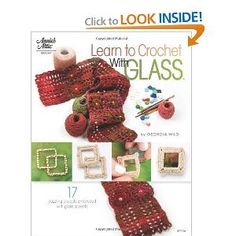 How to #Crochet with Glass