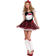 Sequin Bow Hello Kitty Costume