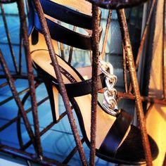 @ruelala #shoelala #industrial shoes  #PilarAbril #shoes