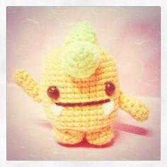 """free pattern : Amigurumi Carrot Monster by """"Sweet N' Cute Creations"""""""